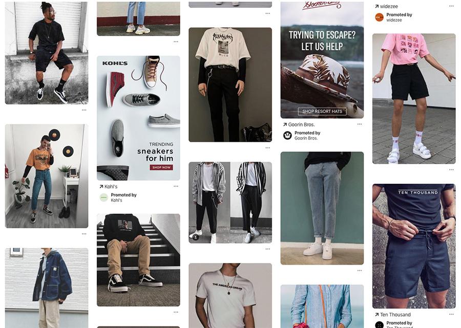 men's 90's fashion
