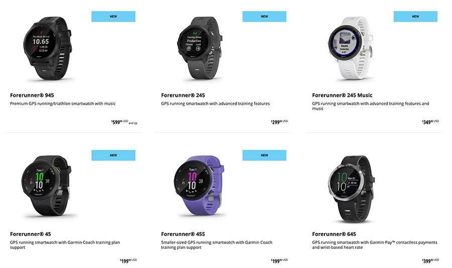 forerunner smartwatch
