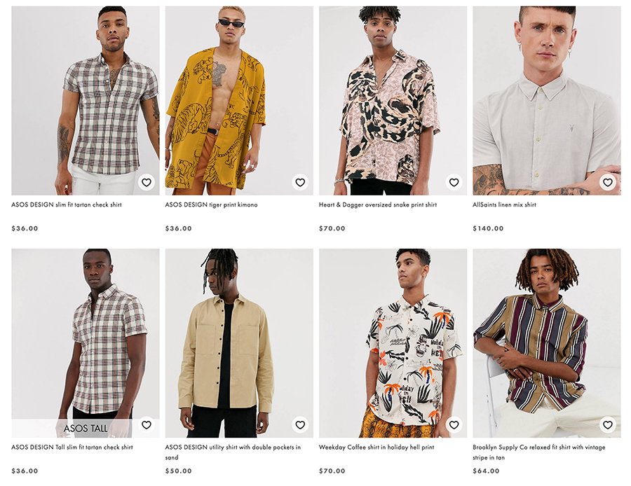asos men's fashion
