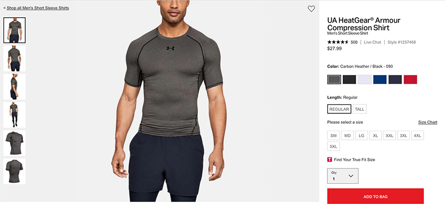 HeatGear Compression Shirt