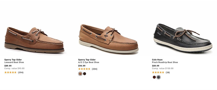 sherry topsider boat shoes