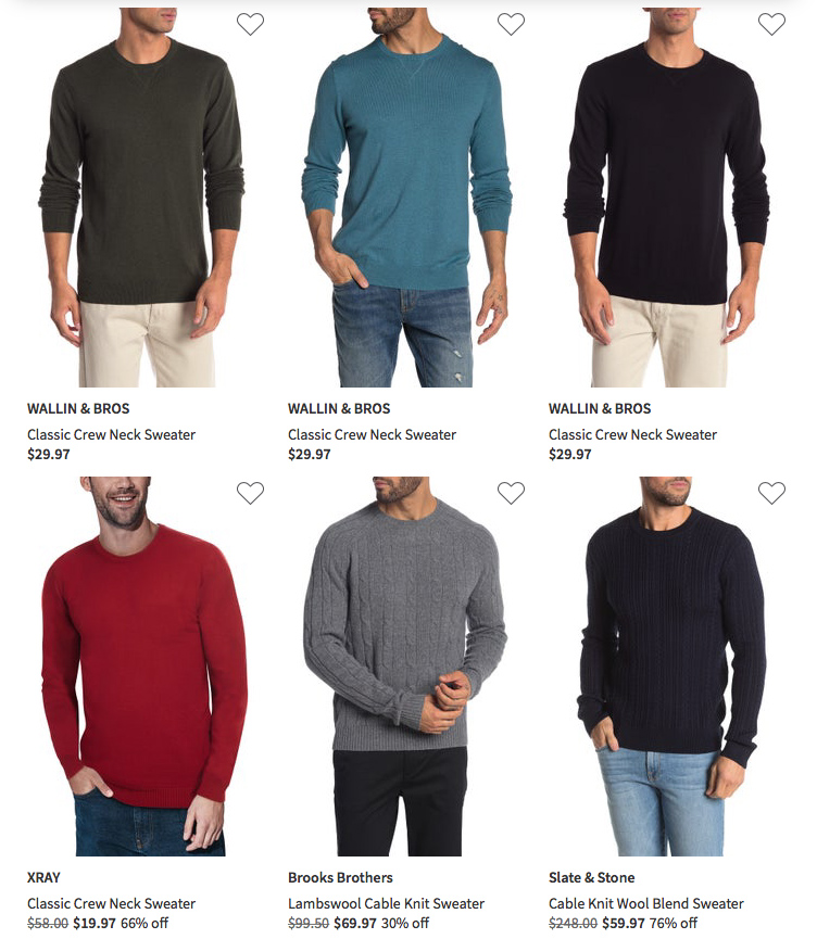 crew neck sweater nordstrom rack