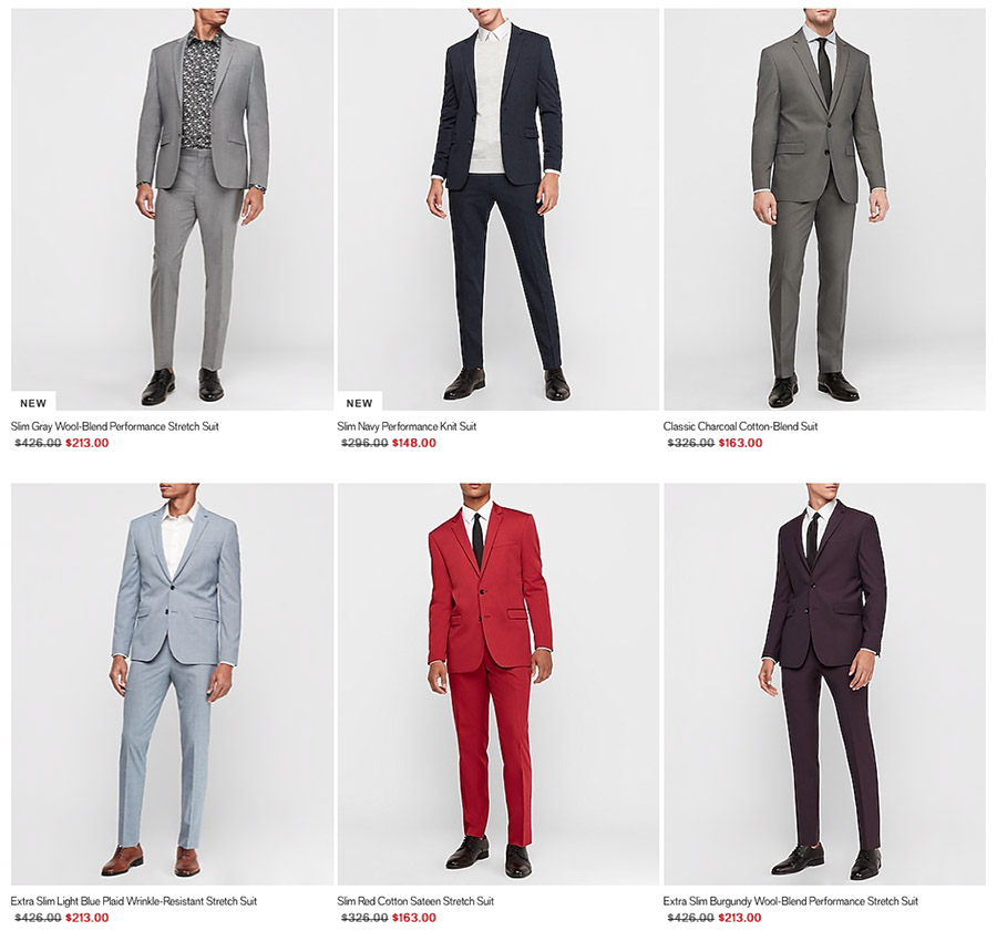 men's casual suits